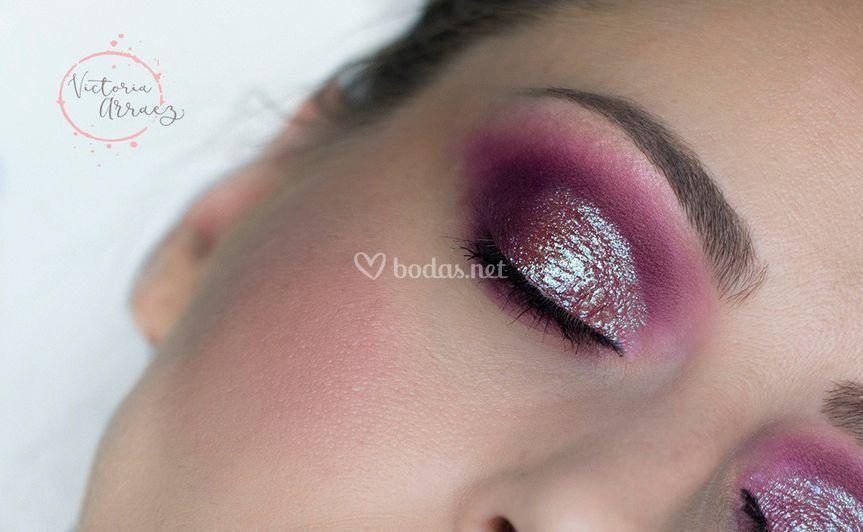 Maquillaje con pigmento