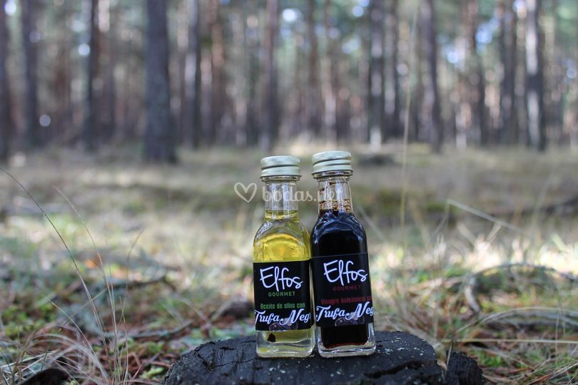 Aceite y Vinagre Trufado