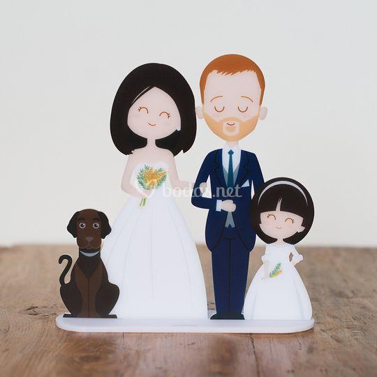 Figura de tarta personalizada