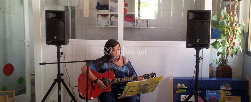 Concierto íntimo de la cantante