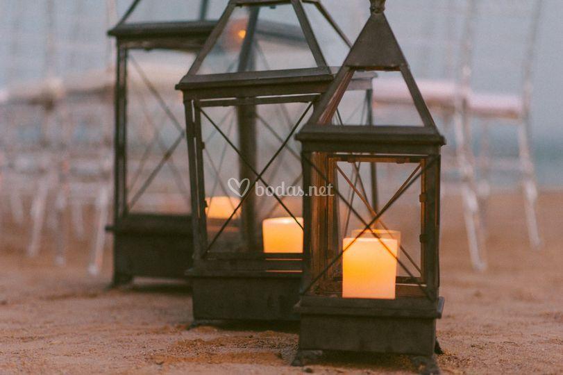 Amor, noche, luz