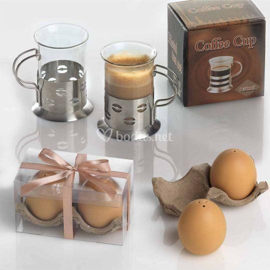 Huevo salero pimentero