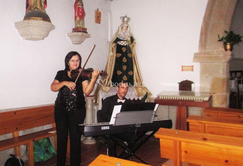 Actuación en una ceremonia