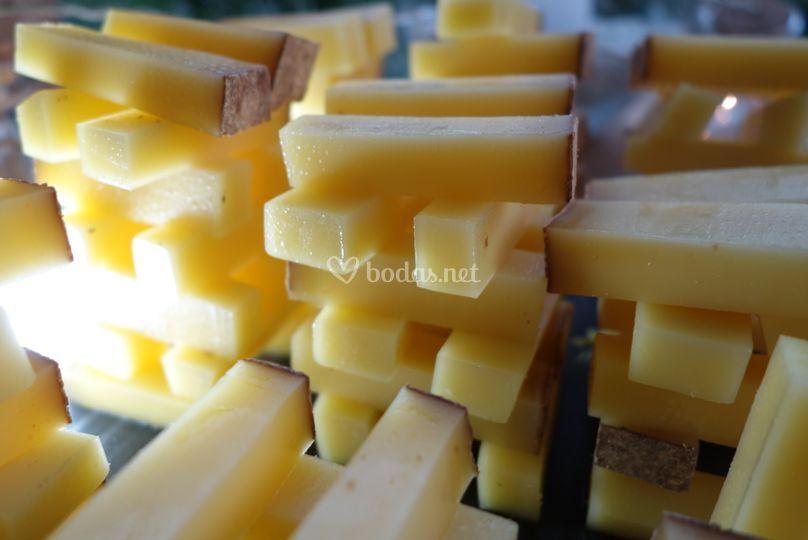 Detalle quesos