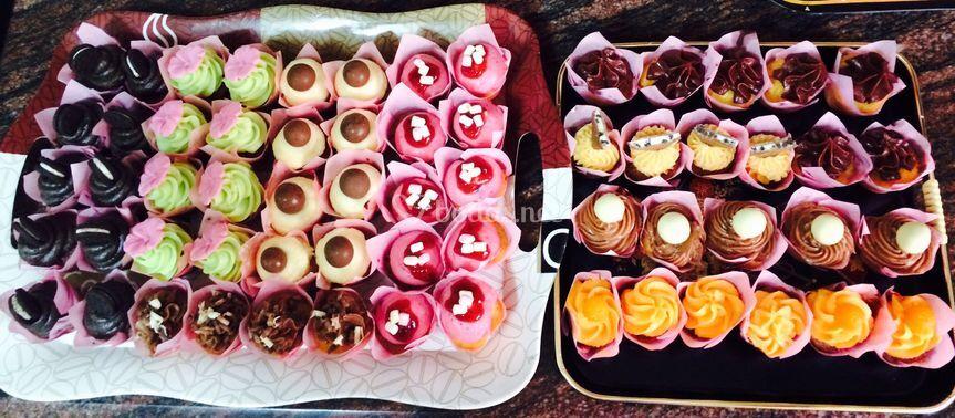 Minicupcakes de sabores