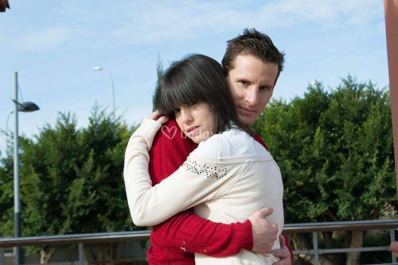 Abrazos románticos