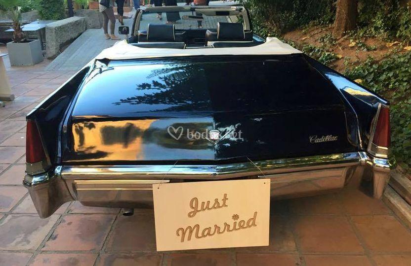 Pancarta para el coche