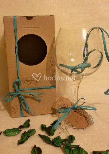 Copa Gin Tonick con caja.