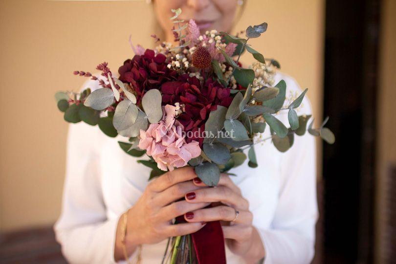 Ramo de novia de boda
