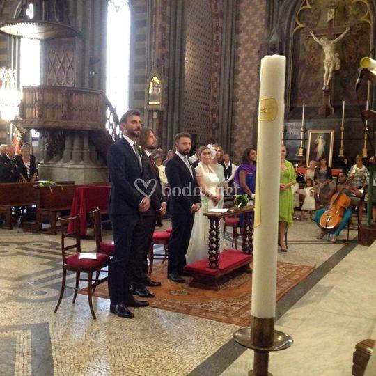 Música en la ceremonia