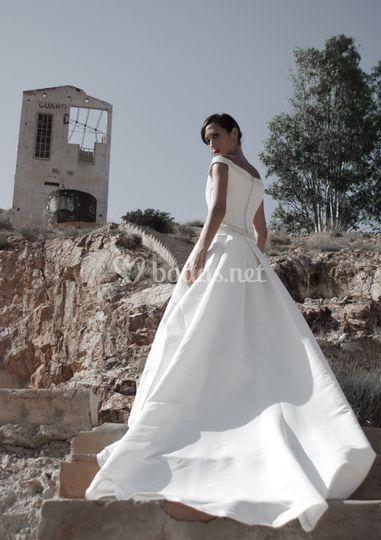 Sesión fotográfica de la novia