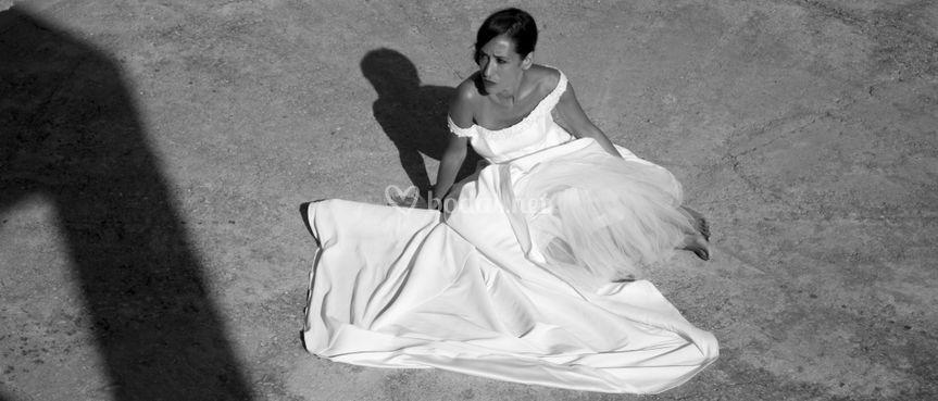 La novia y el vestido
