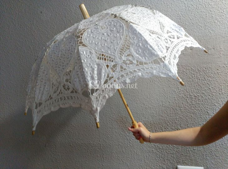 Sombrilla novia