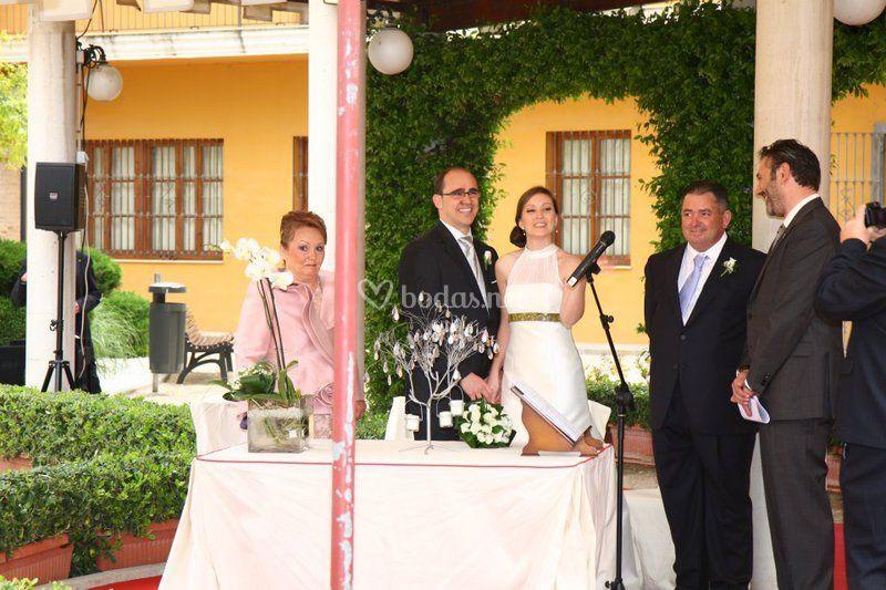 Manuel Corredera - Oficiante de ceremonias