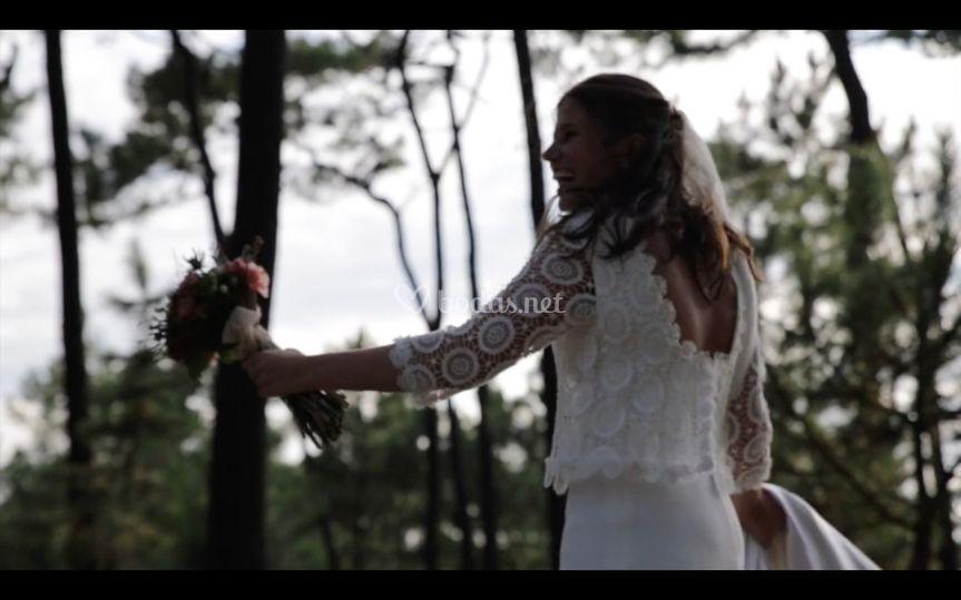Fotograma de boda, Getxo 2018