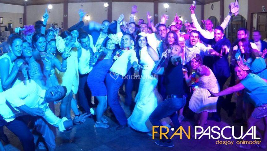 Boda de 1ª con Fran Pascual