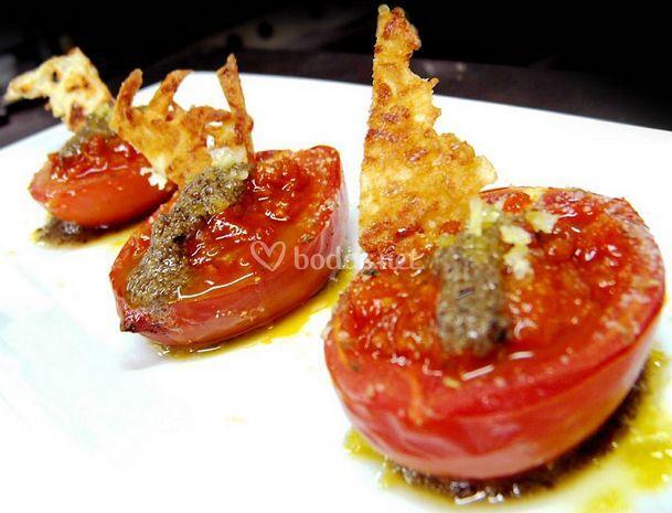 Canoas de tomate