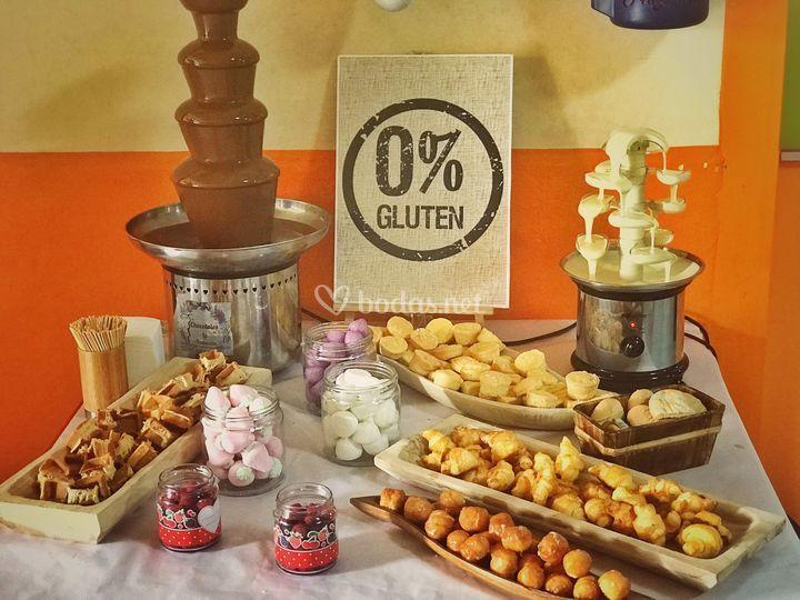 Mesa libre de gluten 100%