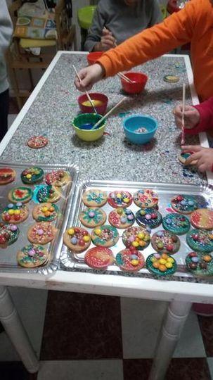 Decoración con galletas