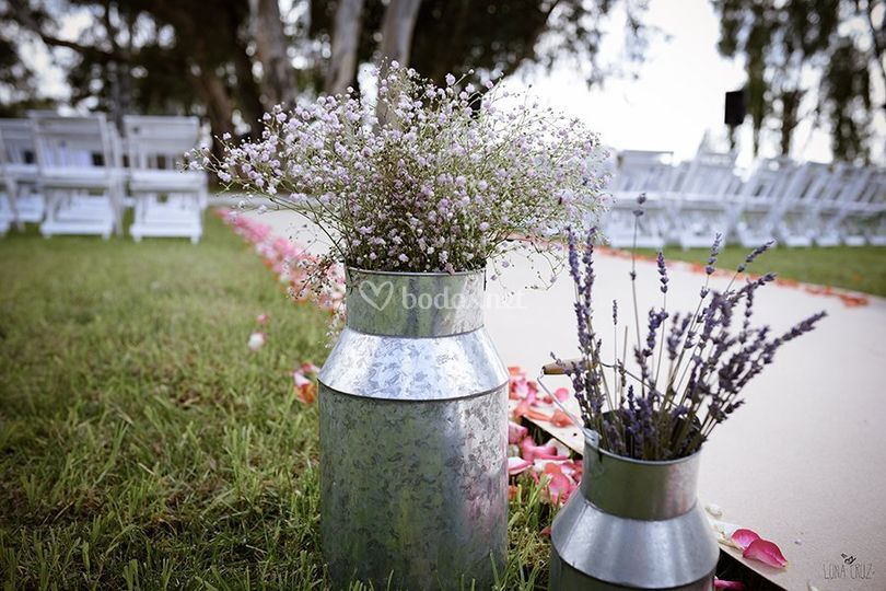 decoración boda civil de restaurante esturión | foto 28