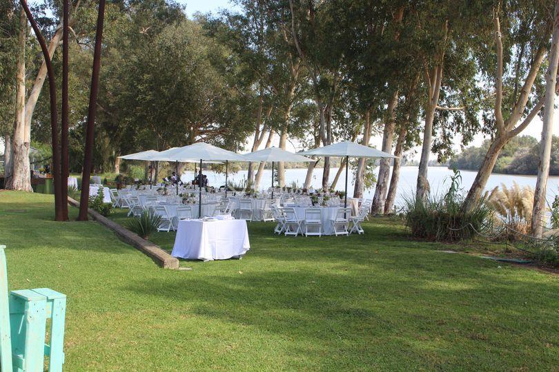 Jardín restaurante