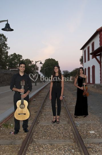 Trío: guitarra, violín y voz