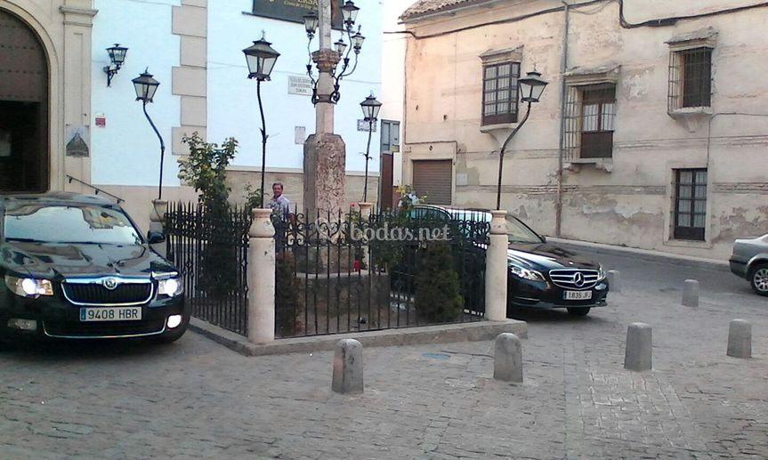 Mercedes y Skoda
