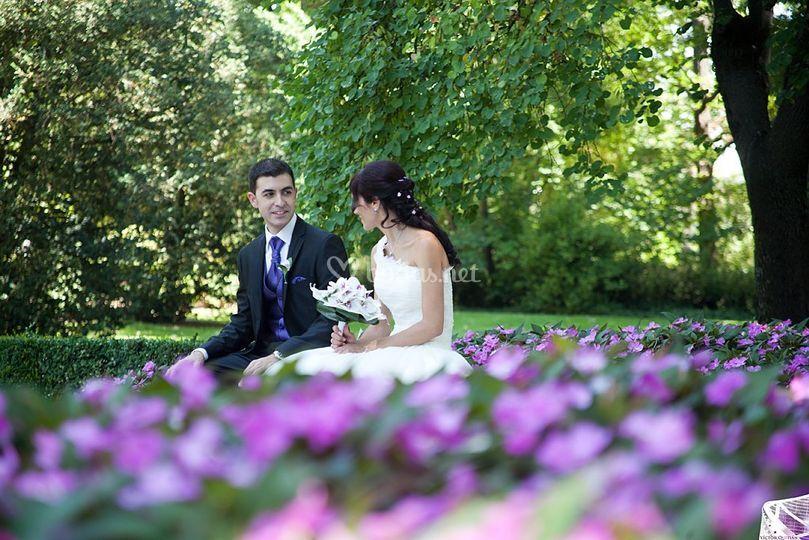 Fotos en el jardín
