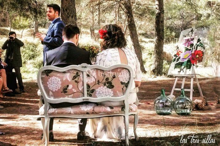 Muebles únicos, bodas únicas