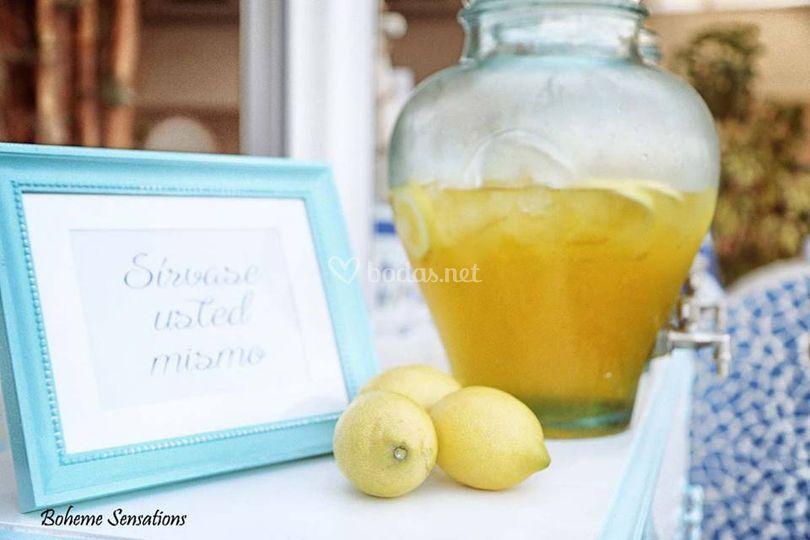 Servicio de limonada