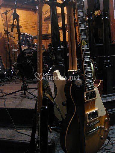 Sus guitarras