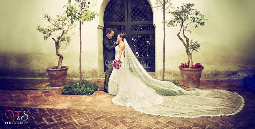 Fotografía exteriores día boda