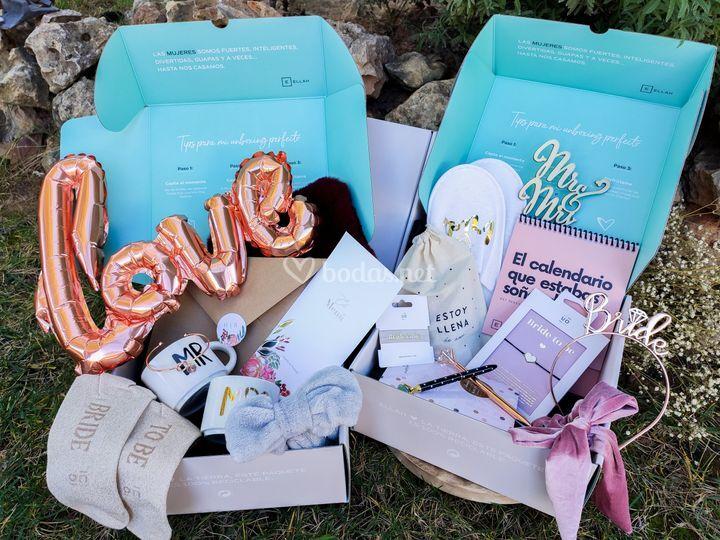 Cajas para novias ellah box