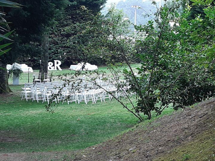Vista de la ceremonia