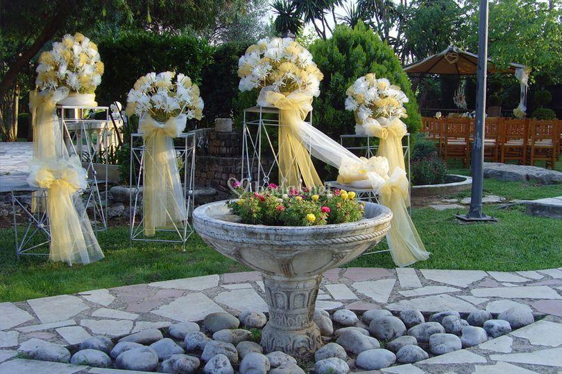 Montaje de la boda