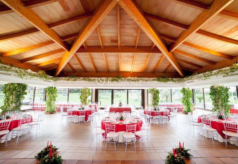 Banquete interior