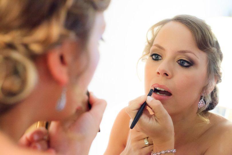 Maquillaje tonos tostados