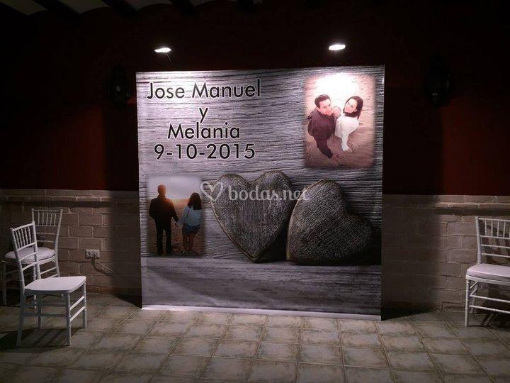 Jose y Melania