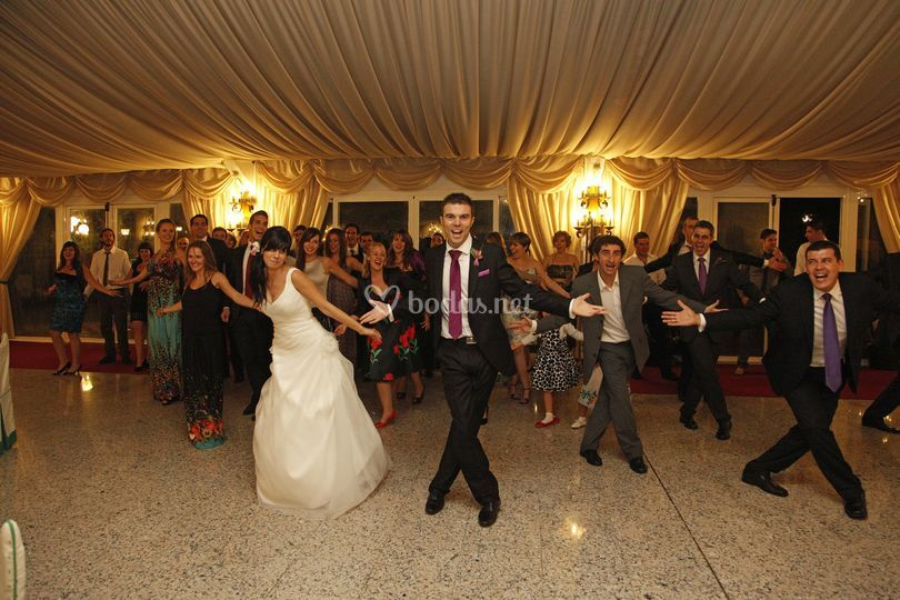 Coreografía de boda
