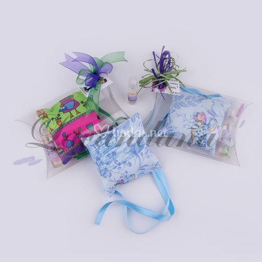 Almohadillas+esencia lavanda