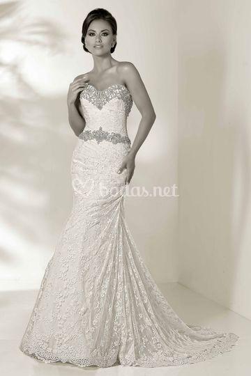 Un vestido espectacular