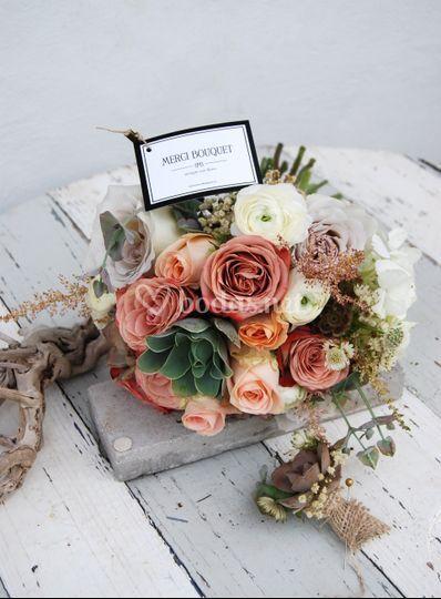 Bouquet Otoñal y prendido