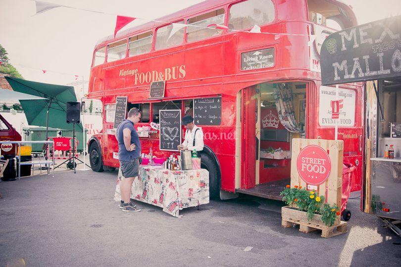 Bus inglés vintage