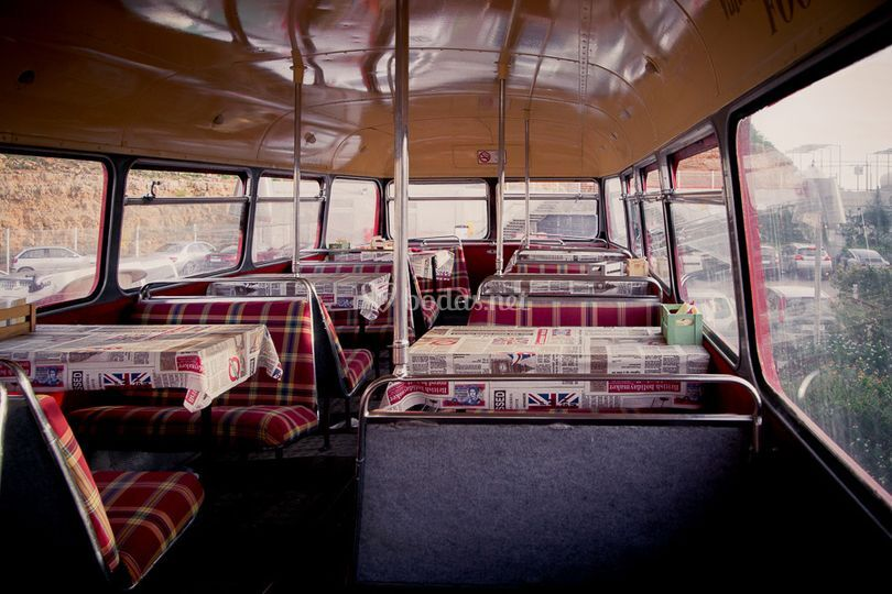 Interior autobús