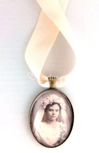Camafeo para ramo de novia