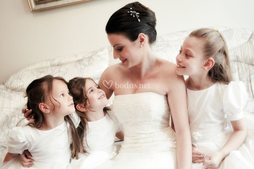 Los vestidos de blanco