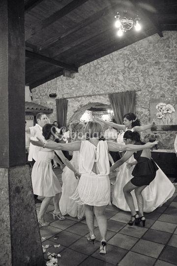 Animación durante la boda