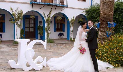 Letras y bodas - Letras decorativas