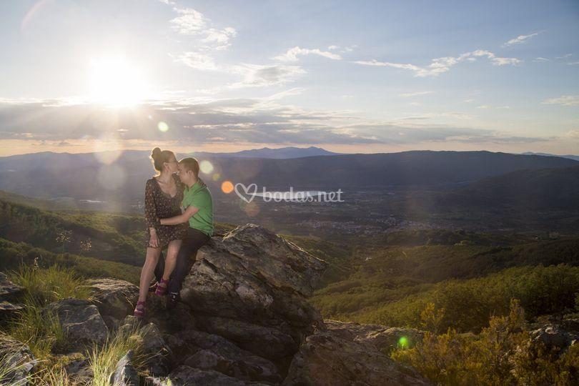 Preboda en la montaña
