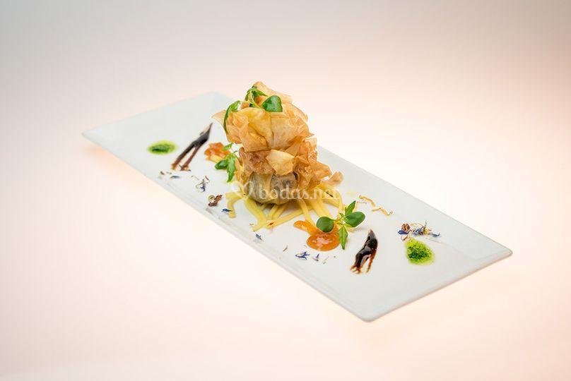 Blau catering service